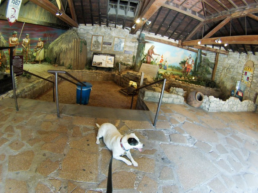 Ponce de Leon's Fountain of Youth Archeological Park - Dog-Friendly St. Augustine, Fla., July 15 - 16, 2017