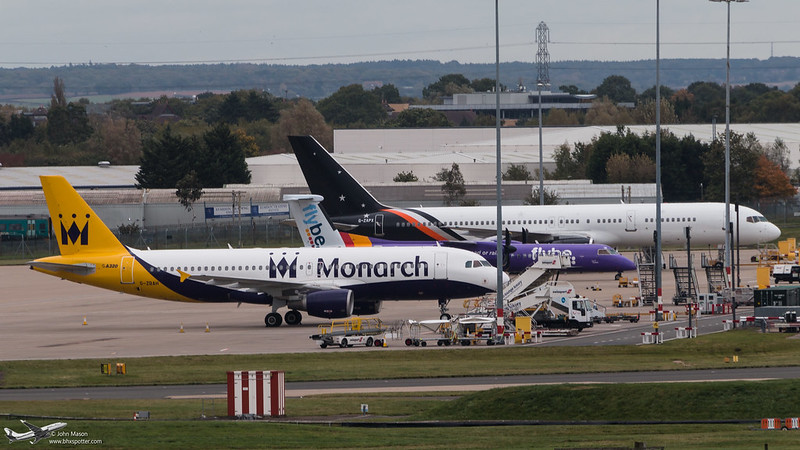 G-ZBAH A320 MONARCH
