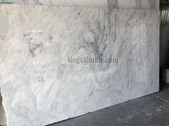 Everest White Quartzite Countertop Slabs