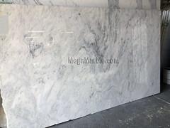 Everest White Quartzite Countertop Slabs