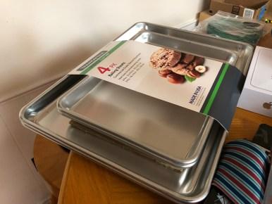 New sheet pans! #bakeware!