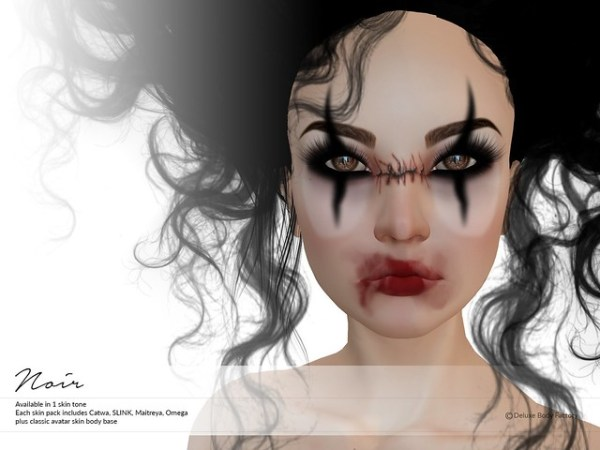Noir skin - Deluxe Body Factory - Mad Circus 3