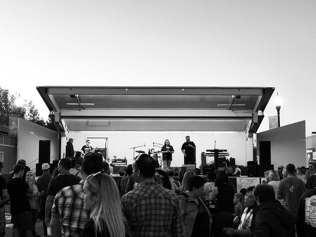 During Oktober Fest in Brentwood