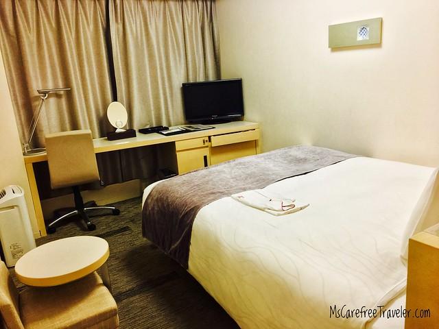 Single room, Richmond Hotel Narita