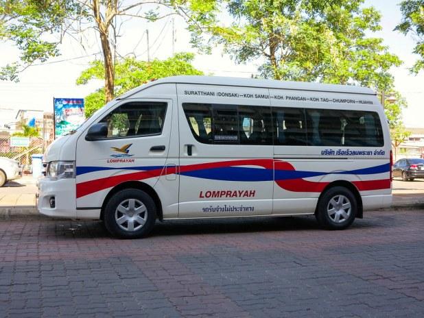 Transporte a Koh Samui