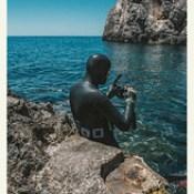 Fisherman - Tyrrhenian Sea.
