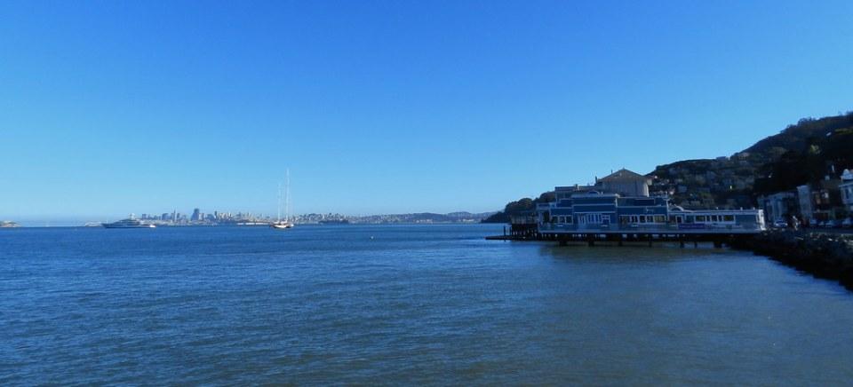 Sausalito casa flotante bahia de San Francisco California EEUU 01