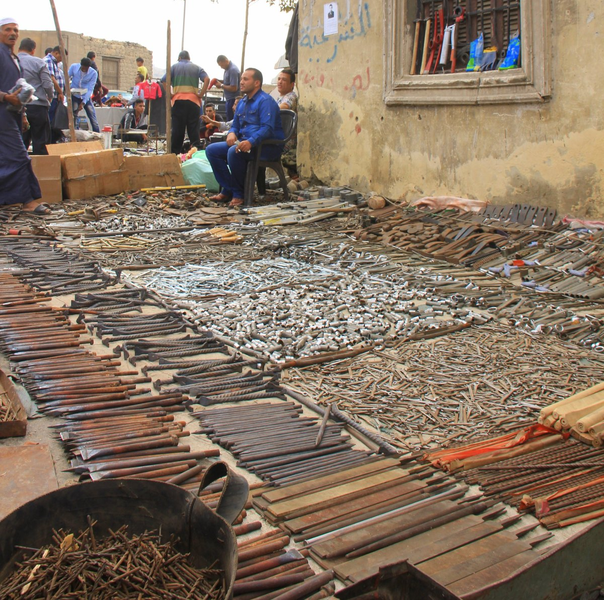 Souq al Goma is like a huge thrift store