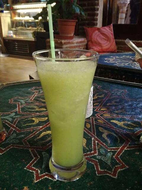 Limonada en una tetería de Granada