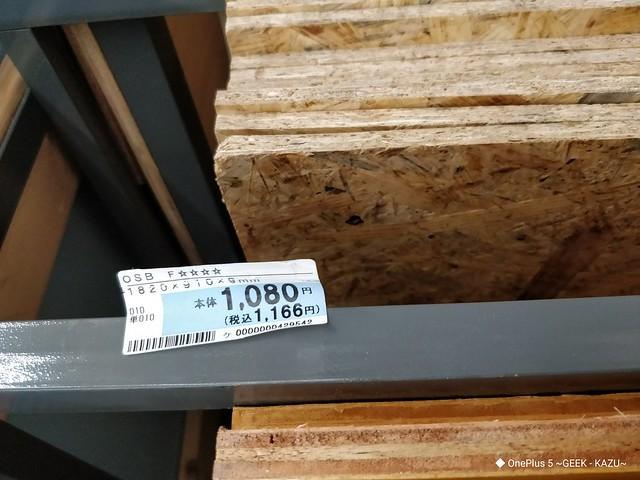 ベニヤ板の価格 (3)