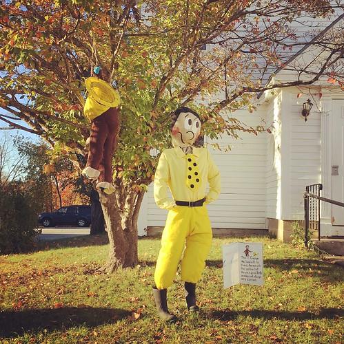 Chester scarecrows