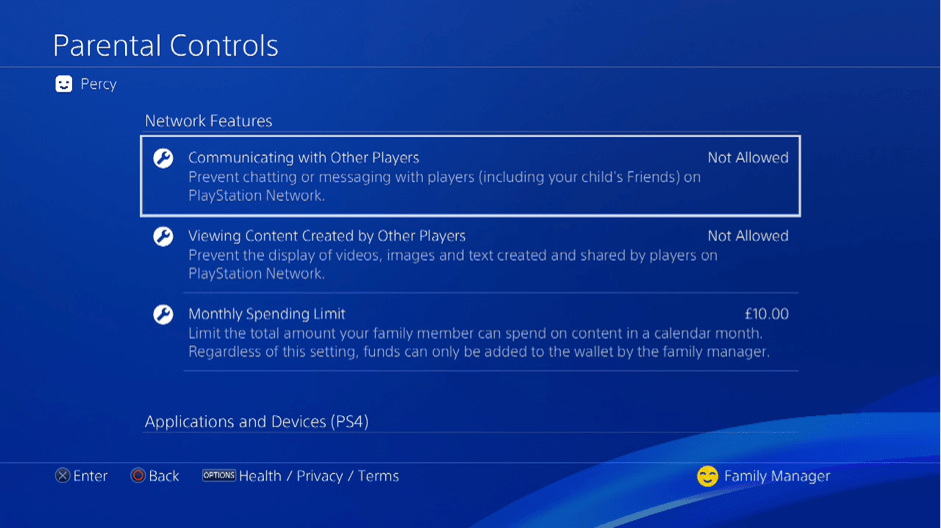 How To Use The New Parental Controls And Family Accounts Features On Ps4 Playstation Blog