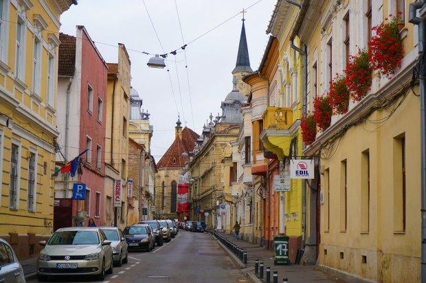 Iuliu Maniu Street in the Old Town