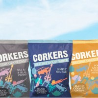 Win a Taster Box of Award-Winning Hand Cooked Corkers Crisps