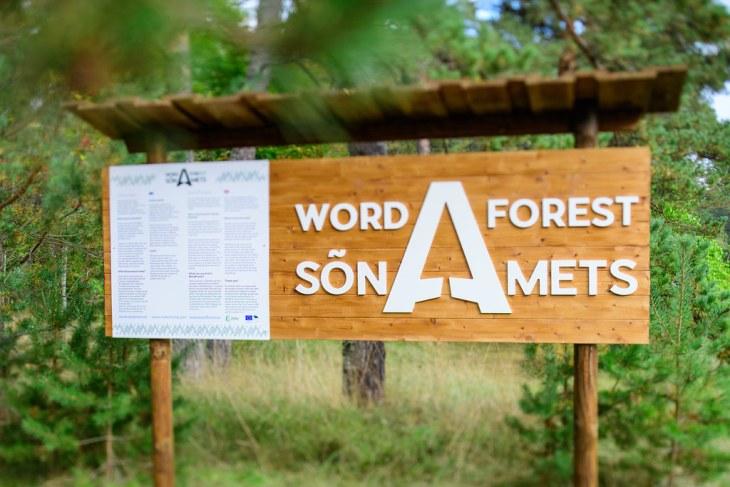 29. septembril avati Ettevõtluse Arendamise Sihtasutuse turismiarenduskeskuse initsiatiivil koostöös Riigimetsa Majandamise Keskuse (RMK) ja Eesti Vabariigi 100. juubeliga Sõnamets