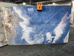 Blue Onyx 2cm 110x62 Lot 45463
