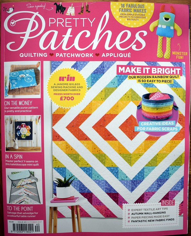 Sunburst Diamonds Quilt (Pretty Patches Sept17)