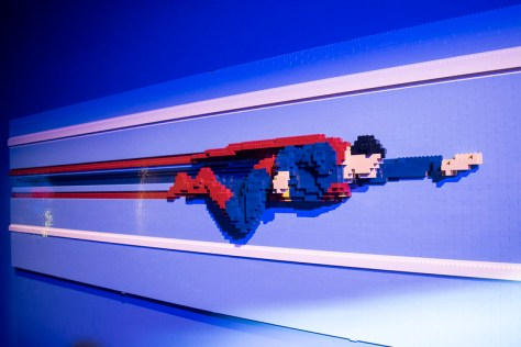 Art of the Brick: DC Heroes
