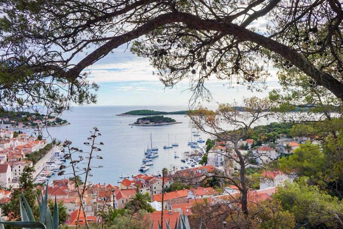 Matkalla Hvarin saarelle