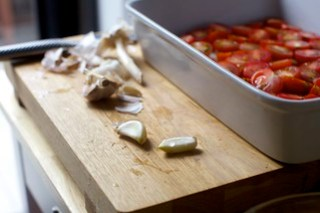 garlic to crush