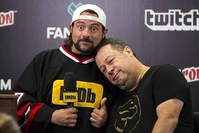 Kevin Smith and Joe Quesada