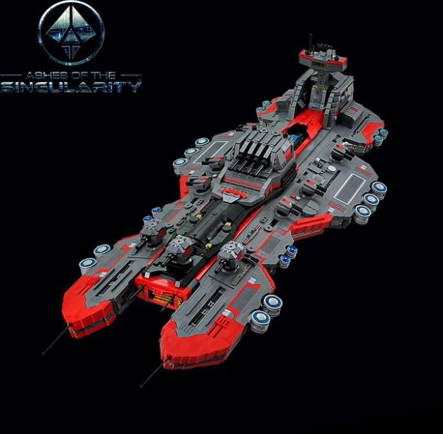 A singularly great ship called Prometheus