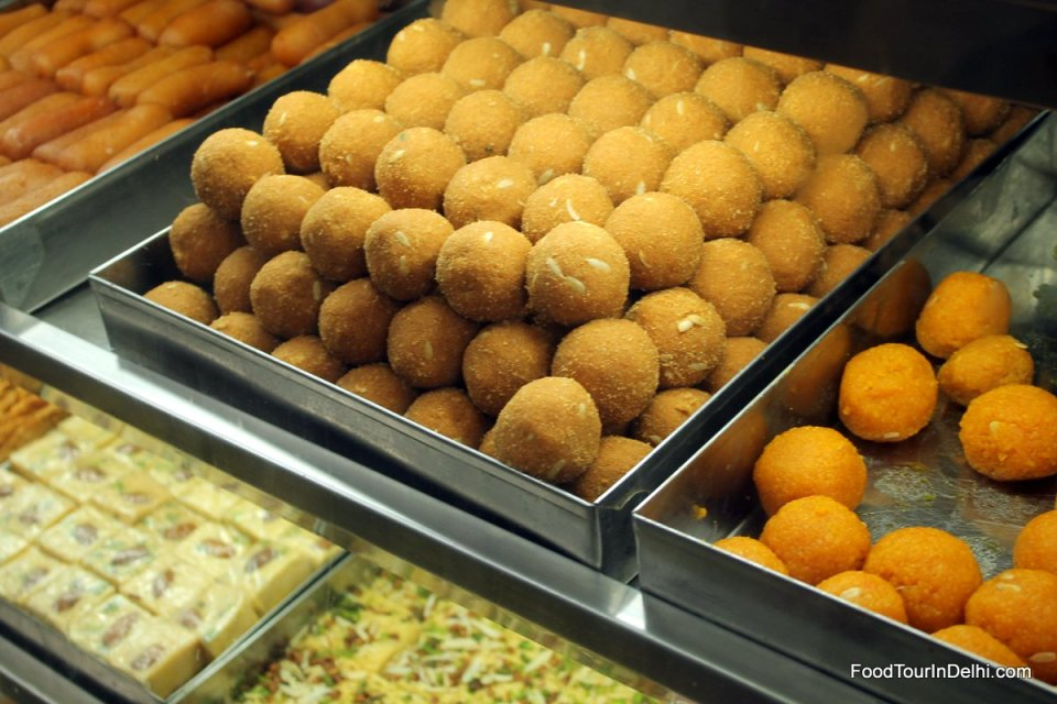Laddoos and other sweets