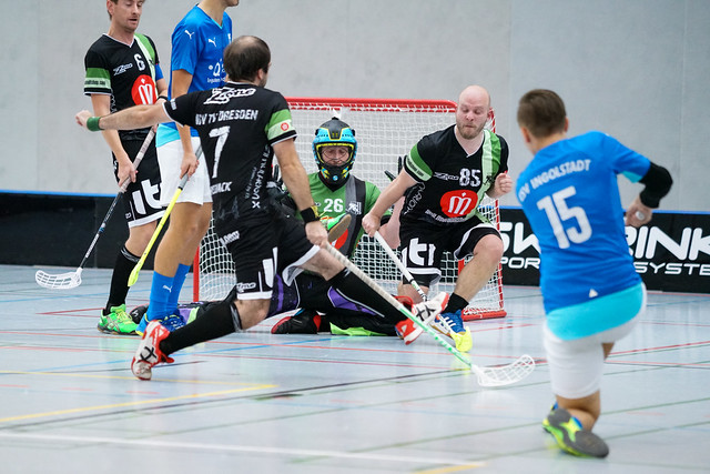 Floorball 2. Bundesliga: Donaufloorball vs USC TU Dresden