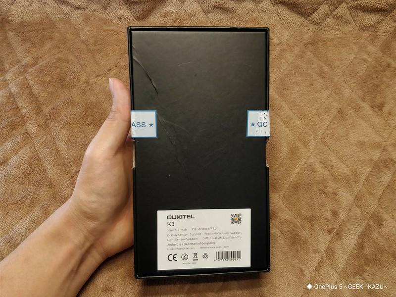 OUKITEL K3 スマートフォン レビュー (4)