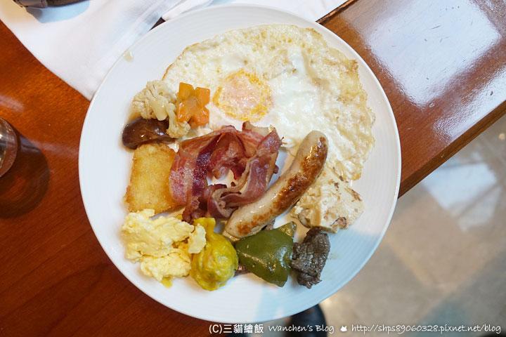 越南皇冠假日飯店 早餐