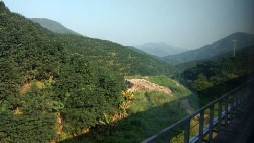 Train: Kunming - Hekoubei