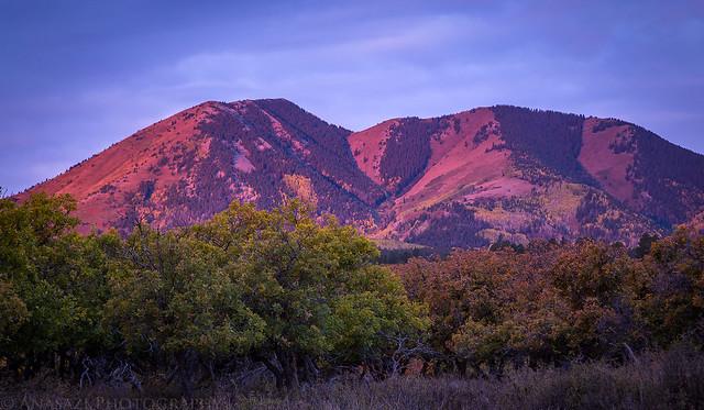 South Peak Alpenglow