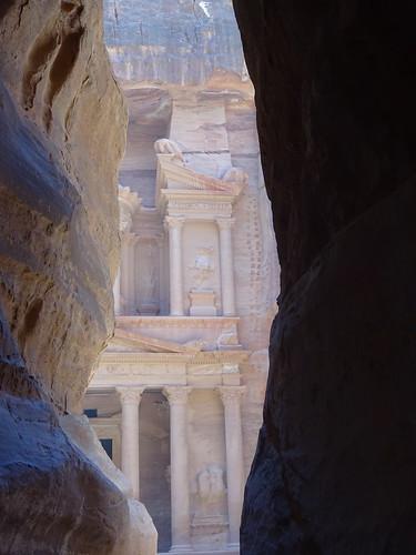 Petra - Al Siq - Kazneh Al Firaun