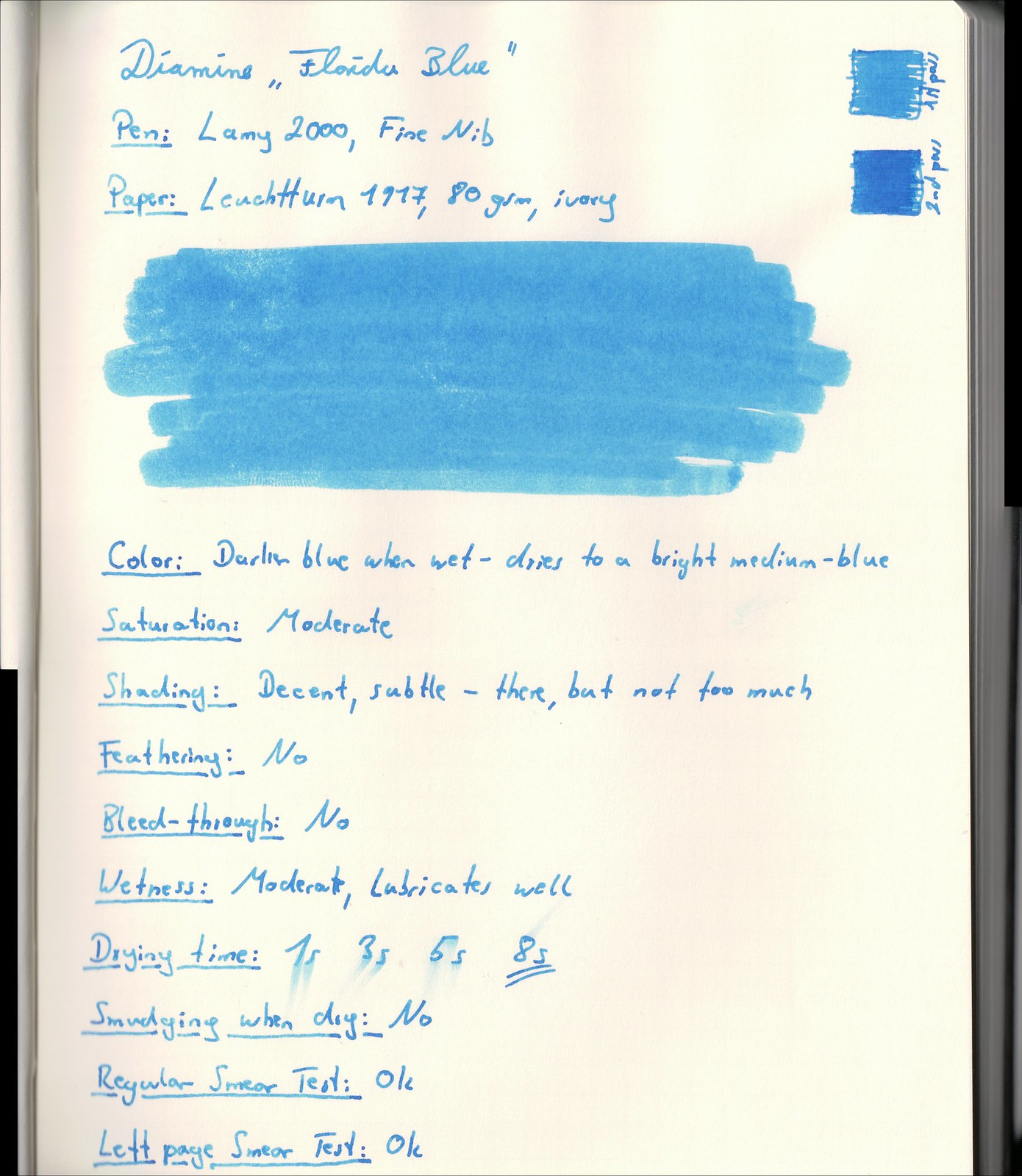 Diamine Florida Blue_LT1917