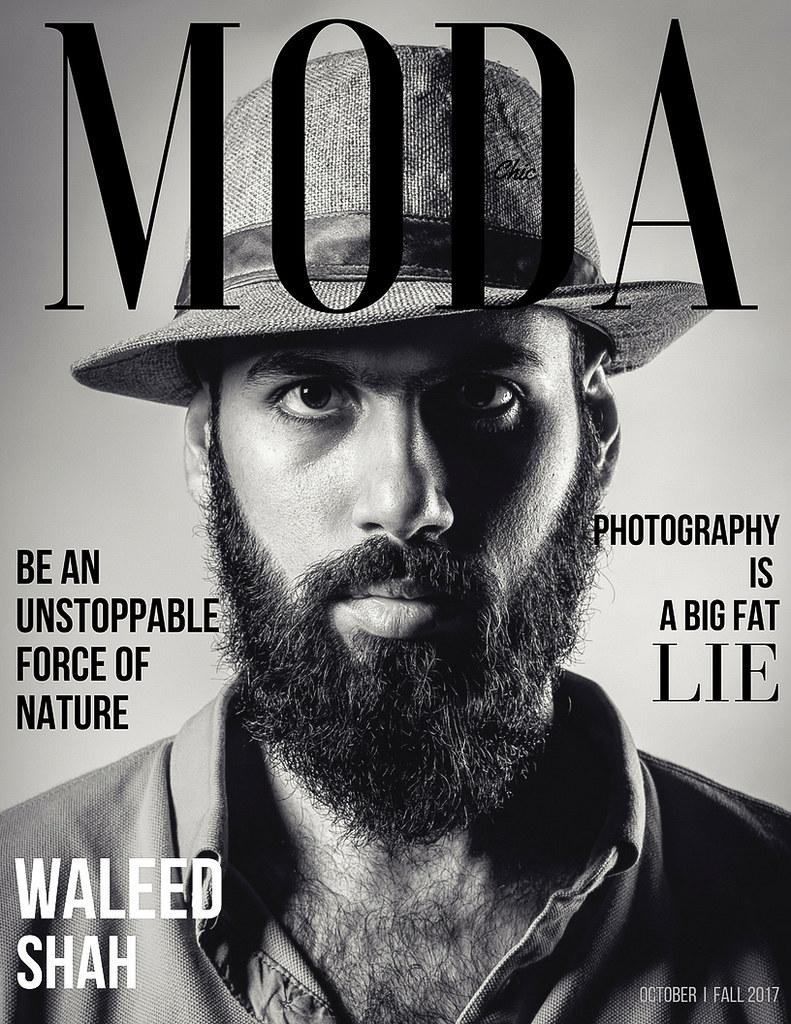 MODA Chic Magazine Cover