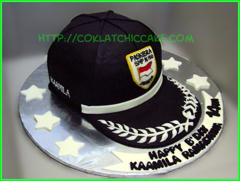 Cake Topi Paskibra Kaamila Coklatchic Cake