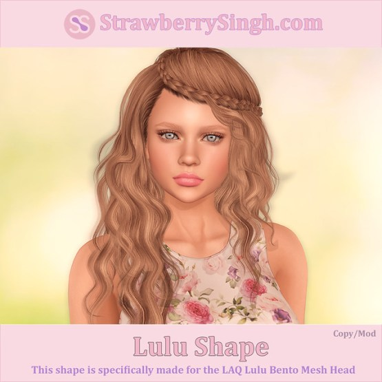 StrawberrySingh.com Lulu Shape