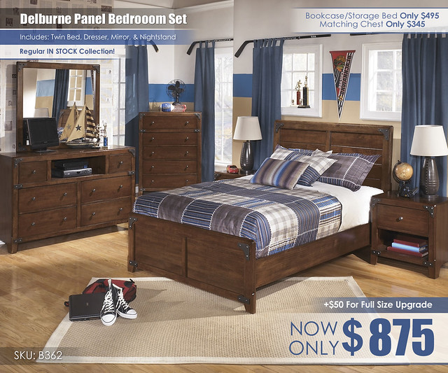 Delburne Bedroom Set_B362