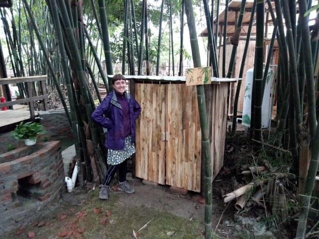 Completed mushroom house (OK the doors still need hinges)