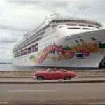 Havanna/Kuba - Kreuzfahrtschiff Terminal.