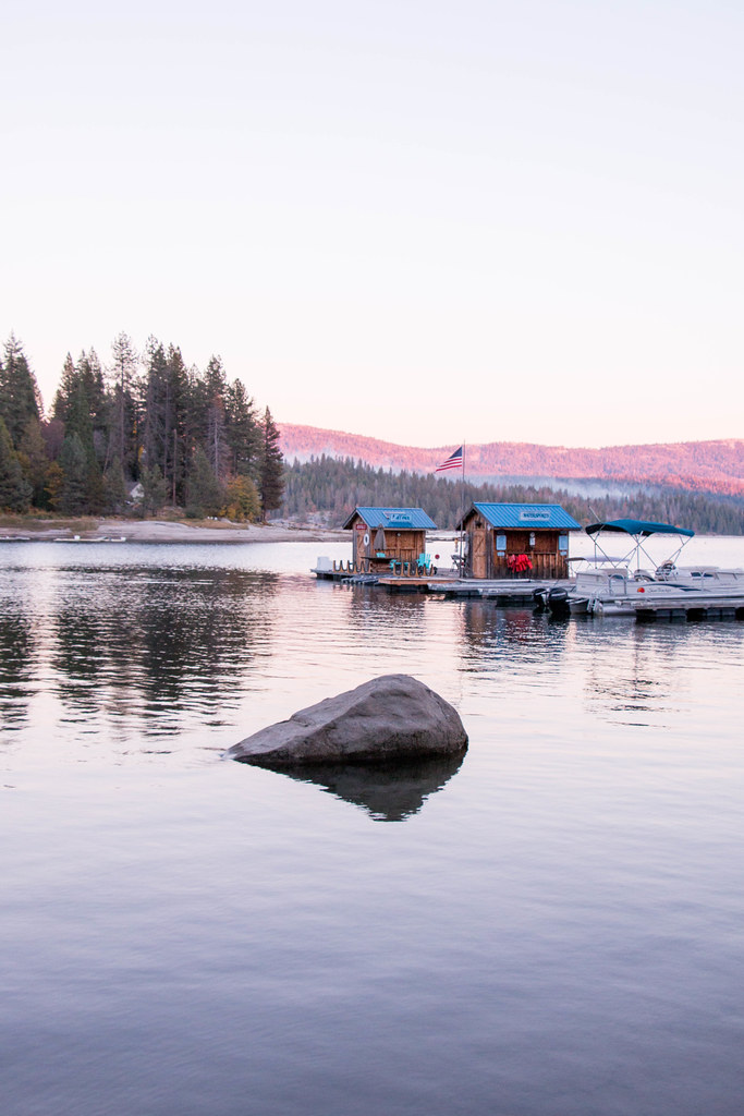 10.22. Shaver Lake sunset
