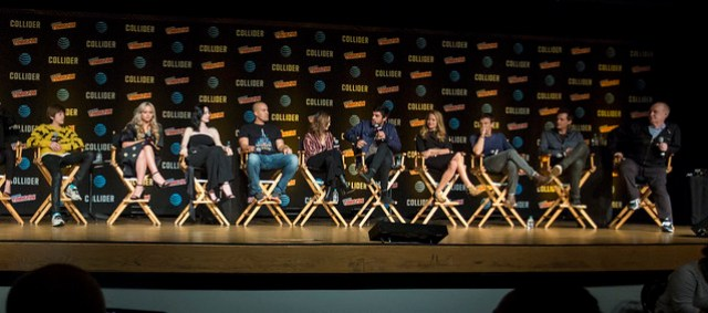 Percy Hynes White, Natalie Alyn Lind, Emma Dumont, Coby Bell, Jamie Chung, Sean Teale, Amy Acker, Stephen Moyer, Len Wiseman and Jeph Loeb