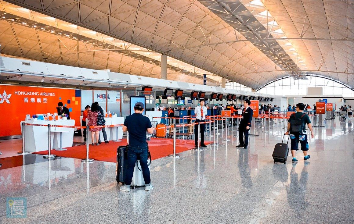 香港航空商務艙香港─札幌航線-8