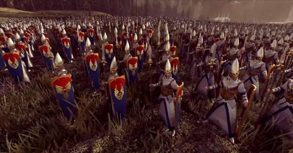 Total War Warhammer 2 - Elf Spearmen