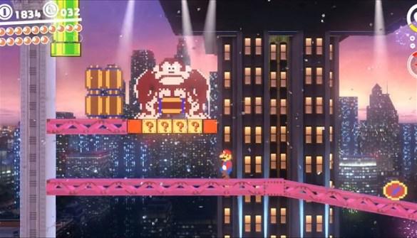 Super Mario Odyssey - Donkey Kong