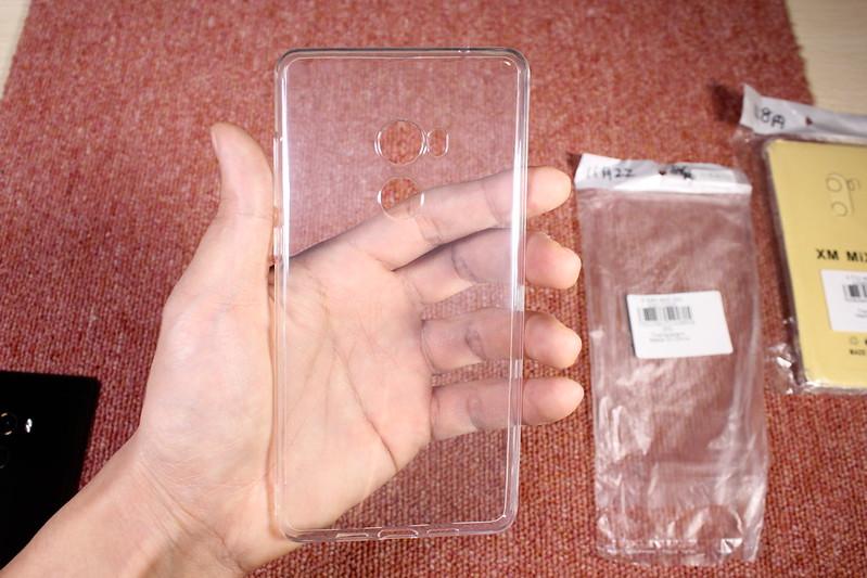 Xiaomi Mi Mix 2のTPU透明ケースを2つ開封レビュー (4)
