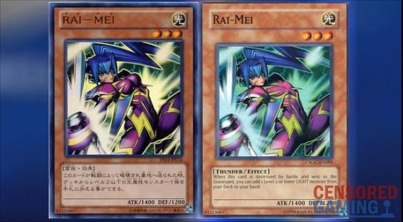 Yu-Gi-Oh Duel Links - Rai Mei Censorship
