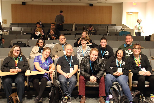 Canadians at WordCamp Rochester 2017 Photo: Kiera Howe - Flickr
