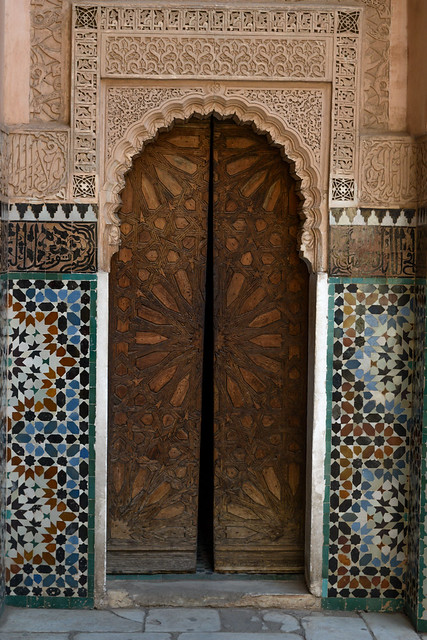Wooden Door at Ben Youseff
