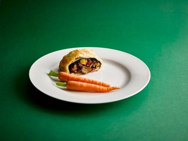 Veggie Wellington - Vegan Christmas Menu